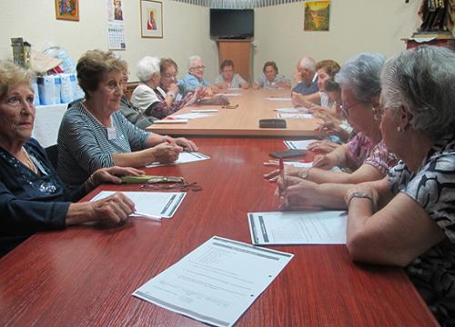 Proyecto El encuentro, voluntarios y ancianos comienzan la nueva temmporada
